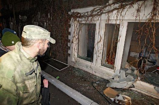 Выбитые окна на Васильковской