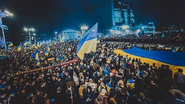 Донецк в марте 2014 года