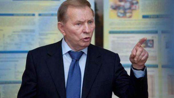 Кучма каже, що більше не хоче бути представником України в Мінську