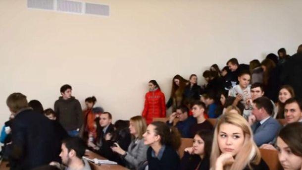 В СБУ солідарні зі студентами