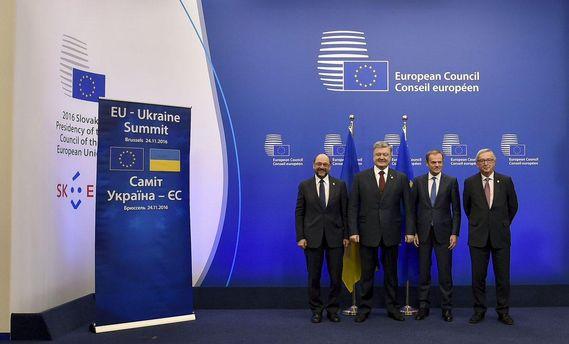 Впервые на Саммите вопросы задавала Украина