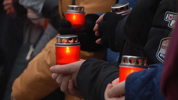 Вшанування пам'яті жертв Голодомору в Івано-Франківську