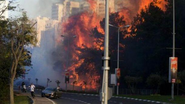 В Израиле бушуют мощные пожары