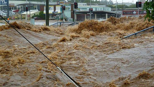 Річка Танаро вийшла з берегів
