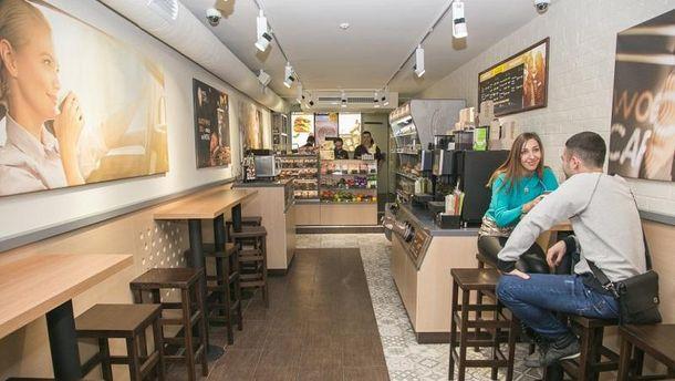 WOG CAFE открылось у м. Олимпийская