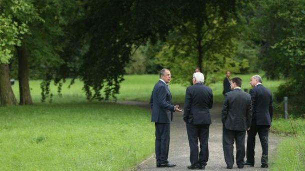 В прошлый раз министры встречались в Берлине