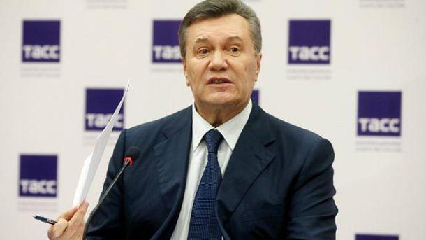То, что Крым отделился от Украины  –  это плохо,  –  Янукович