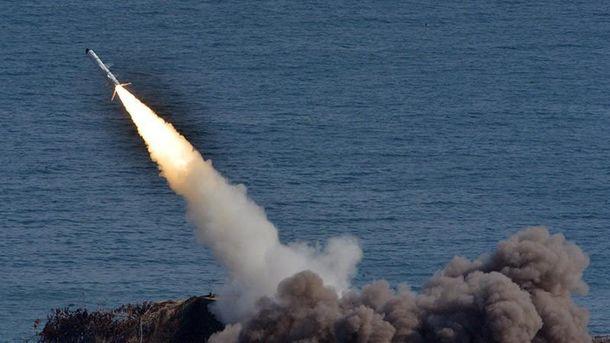Україна проведе ракетні стрільби в Чорному морі