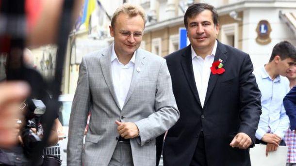 У Саакашвили не исключают сотрудничества с Садовым