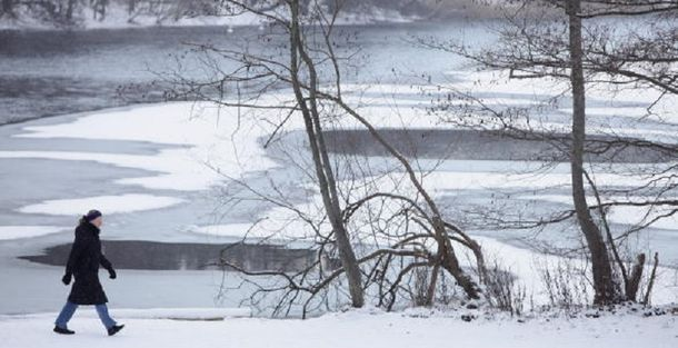 Діти провалилися під лід
