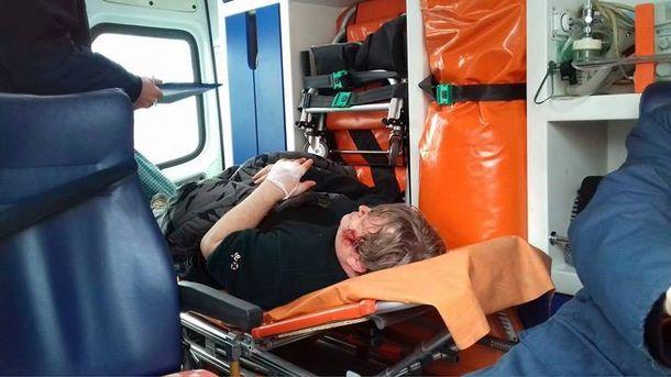 Василий Рябко после нападения