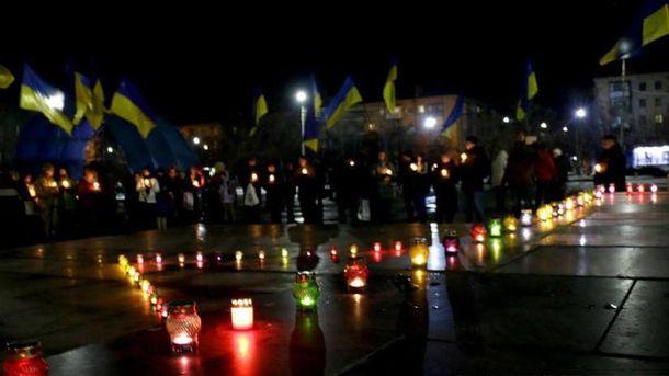 Слов'янськ згадав про Голодомор