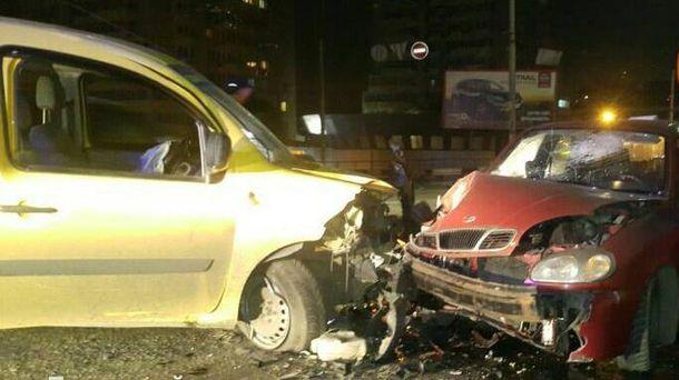 Ужасная авария в Киеве