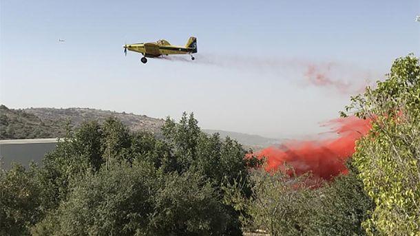 Ліквідація пожеж у Ізраїлі