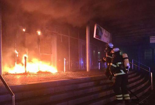 Поджог в Гамбурге