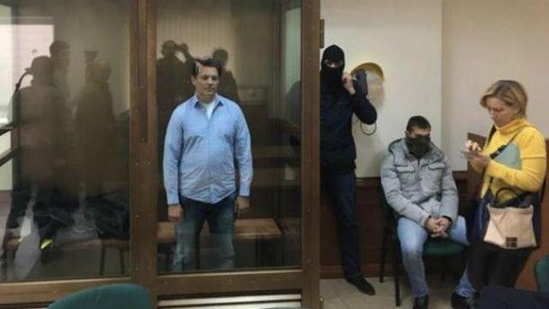 Російське судилище залишило Сущенка за ґратами