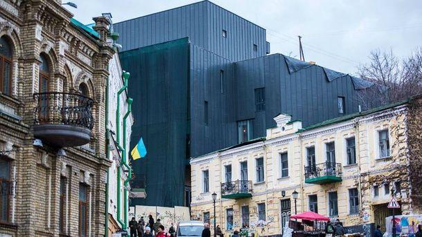 В Киеве провели странную реконструкцию театра