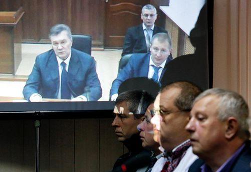Допит Януковича 25 листопада 2016