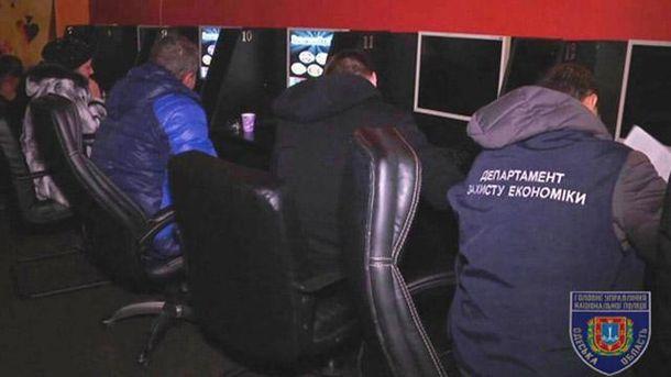 Поліція викрила нелегальне казино