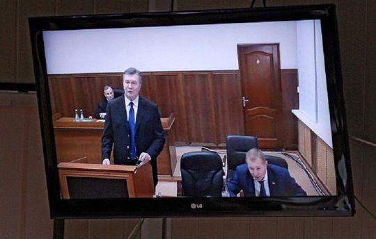 Віктор Янукович у суді