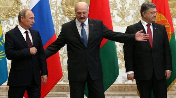 Лукашенко, Порошенко та Путін