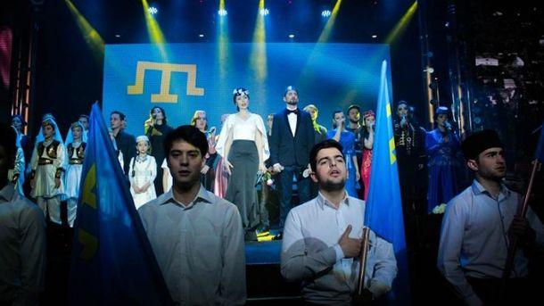 27 ноября в Киеве состоялся концерт крымскотатарских артистов