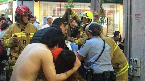В китайском квартале Сиднея прогремел взрыв