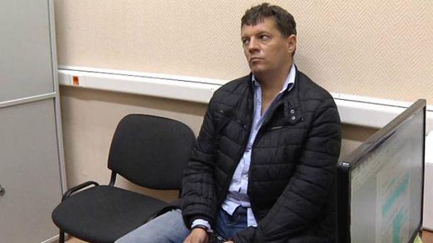 Украинского священника к Сущенко не впустили