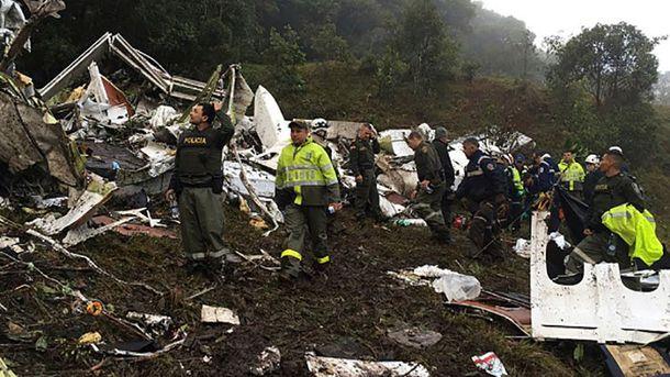 Последствия катастрофы в Колумбии