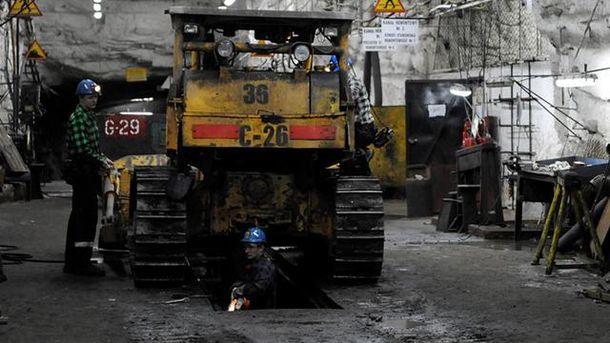 В результате землетрясения пострадали шахтеры