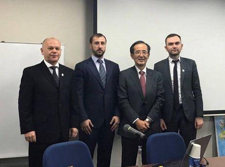 Встреча украинской парламентской делегации с экс-главой центробанка Японии Масааки Сиракава