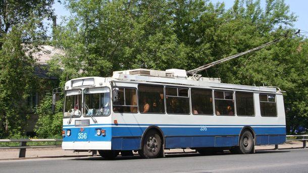 Водії тролейбусів влаштували пікет