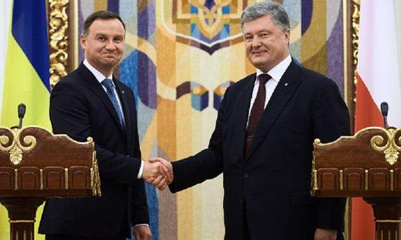 Впрограмме визита Порошенко вПольшу отменен визит вХелм