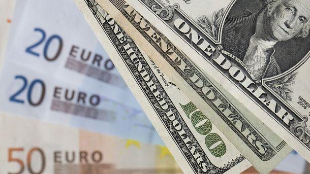 Євро та долар синхронно дорожчаються