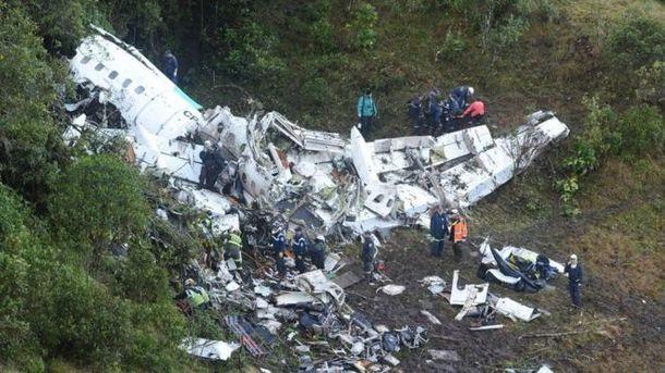 Стало известно, почему упал самолет с футболистами в Колумбии