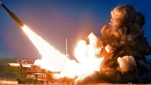 У оккупированного Крыма Украина начала ракетные стрельбы