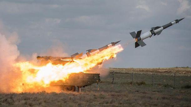 Украина начала ракетные стрельбы вблизи Крыма