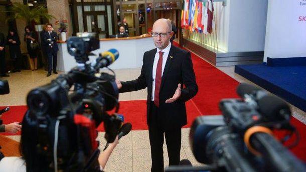 Яценюк подает в суд касательно фейка