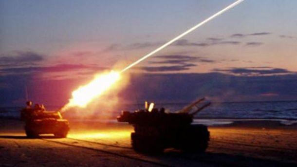 Мар'їнка та Новогригорівка потрапили під зенітний вогонь противника, – штаб АТО