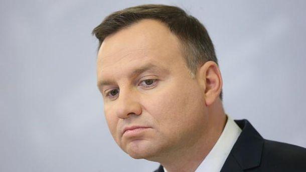 Дуда хочет поговорить с Порошенко об исторической правде