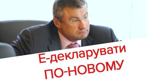 Мищенко забыл указать часть недвижимости в декларации