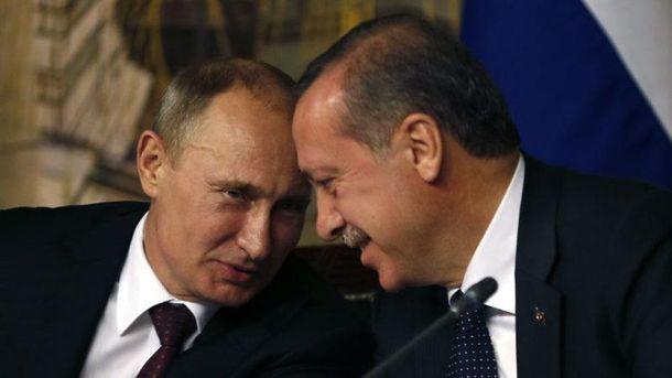 Між Путіним і Ердоганом тепер повна ідилія?