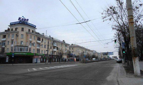 Улицы оккупированного Луганска
