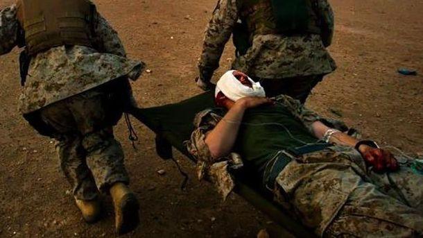 Наши бойцы получили ранения на Попаснянском направлении