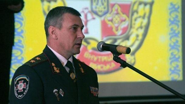 Экс-командир внутренних войск МВД Украины Станислав Шуляк