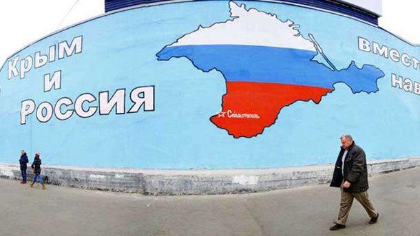 Окуоккупированный Крым