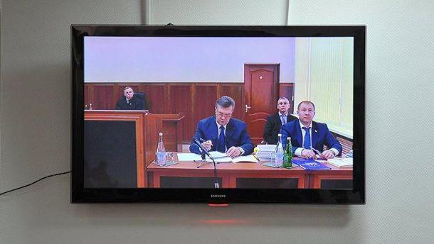 Видеодопрос президента-беглеца Виктора Януковича