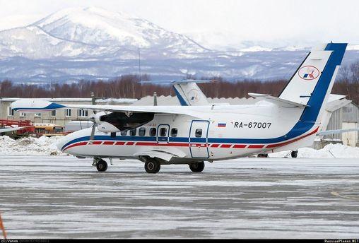 Российский самолет L-410