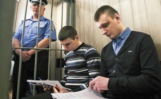 Екс-беркутівці Сергій Зінченко та Павло Аброськін
