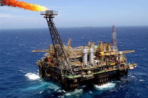 Добыча газа в Черном море